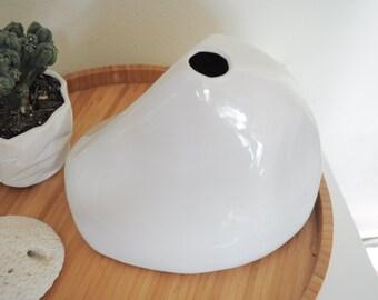 Sculptural Melamine Vase