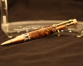 "Steampunk ""Texas Water Oak"" Technical Pen made by Swamphouse Woodworks"