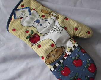 Vintage,  Pillsbury Doughboy Oven Mitt  -Mint with tags   - Estate find!