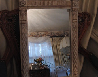 Vintage Victorian style wall mirror
