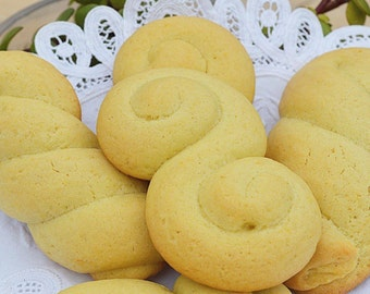 Cookies Koulourakia (Traditional Greek Coffee Cookies)