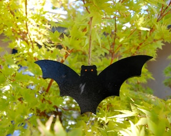 Halloween Bat Wood Decoration