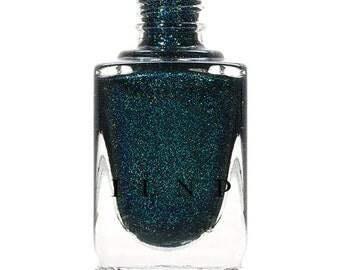 Sweater Weather - Petrol Blue Holographic Nail Polish