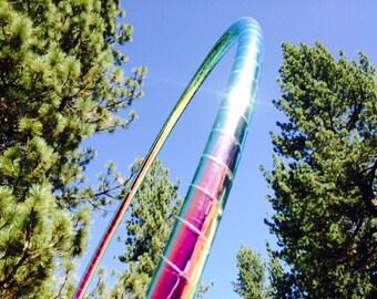 Watermelon Haze Hula Hoop HDPE - Specialty Taped Practice Hoop -  By Colorado Hoops