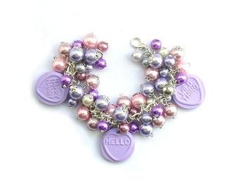 Cheeky Hello Kids Charm Bracelet