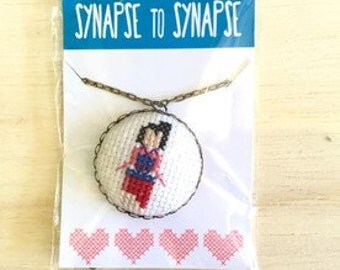 Mulan Necklace, Disney Minimalistic