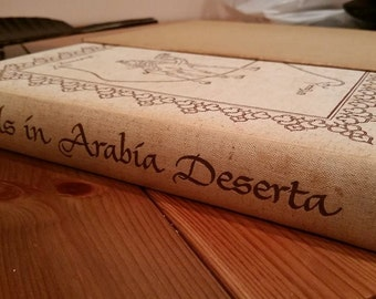 Rustic Arabian Nights Hardcover Book