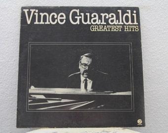 "Vince Guaraldi - ""Greatest Hits"" vinyl record (NT)"