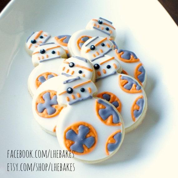 BB8 Sugar Cookies