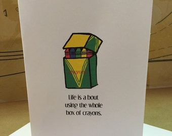Greeting Card About Life
