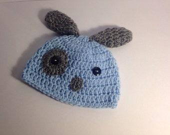 Infant Crochet Hat -Puppy