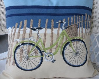beach bicycle pillow cover accent pillow covers bike pillow covers beach pillows