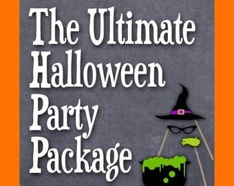 Halloween charades | Etsy