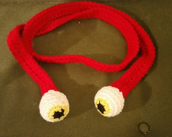 Eyeball scarf