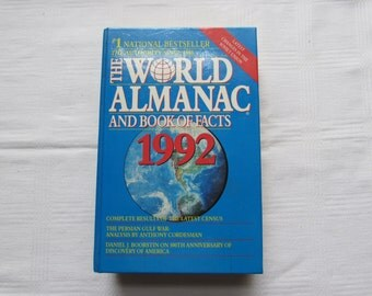 1992 The World Almanac and Book of Facts