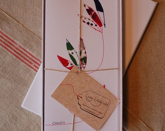 Gift Box of Floral Motif Cards