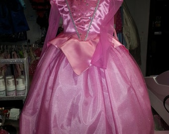 aurora sleeping beauty princess dress inant  toddler children costum