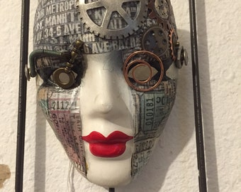 Mother One - Steampunk Mask