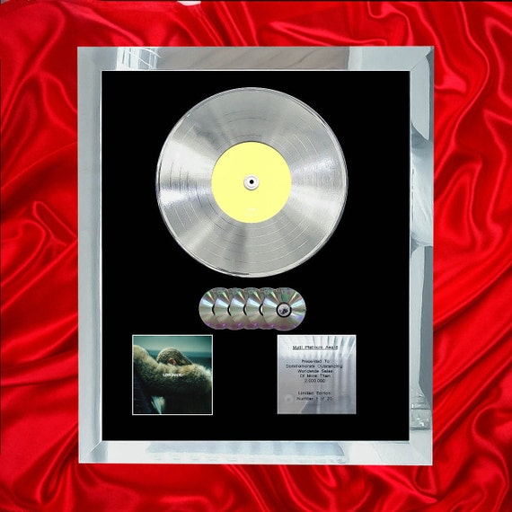 Beyonce Lemonade Multi Platinum Cd Disc Vinyl Record Lp Award