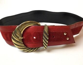 Large 80s belt
