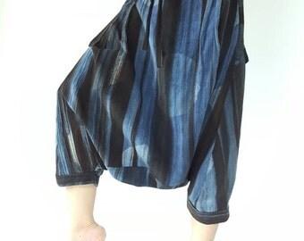 HC0046 Natural Tiedry Bohemian Harem Pants Gypsy Pants cotton Pants,Aladdin Pants Maxi Pants Boho Pants