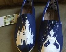 Cinderella Silhouette Toms