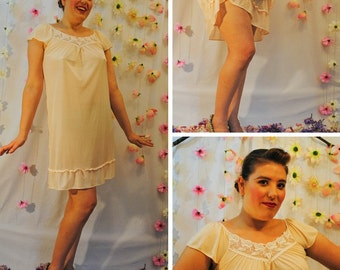 Vintage Peach Nightgown