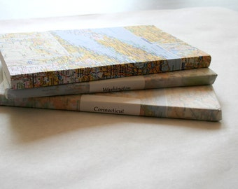 State Map Traveling Sketch Books