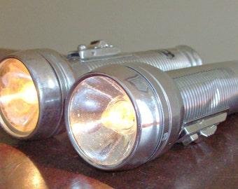 Vintage Ray-O-Vac Flashlights
