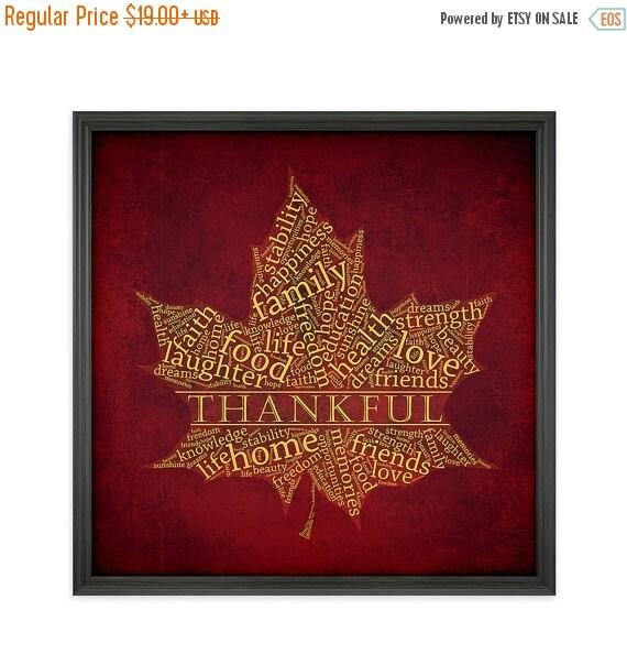 On sale thanksgiving decor autumn word art fall by kinandcaboodle - Thanksgiving decorations on sale ...
