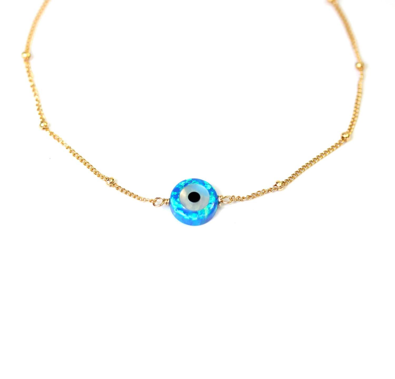 Evil Eye Bracelet Protection Bracelet Satellite
