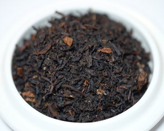 Organic Black Tea:  Apricot Brandy Organic  Black Loose Leaf, Organic Loose Tea Blend