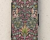 iphone 4, 5 or 6 case - flip case - william morris  - cover - flower - design - Galaxy S3, S3mini, S4, S5