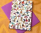 Yoga Babes Card