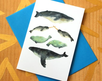 Narwhal Sandwich Card