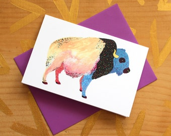 Cosmic Buffalo Card