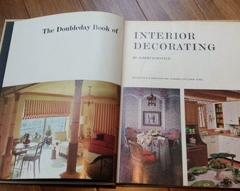 1965 The Doubleday Book of Interior Decorating
