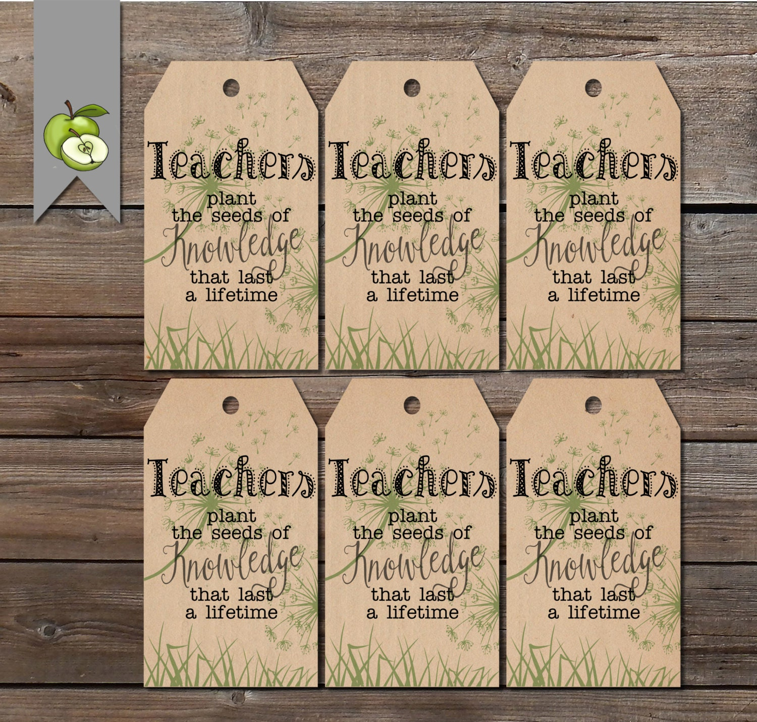 Quotes About Teachers Planting Seeds: Gift Tags Teacher Plant The Seed Plant Tag Teacher Gift