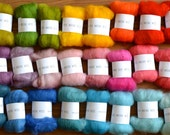 SALE 30 colours - Needle Felter's Palette - Merino Wool Roving