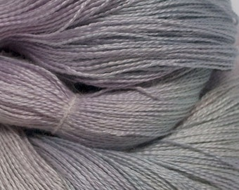 Hand Dyed  Alpaca / Silk, Lace weight / AlSi5