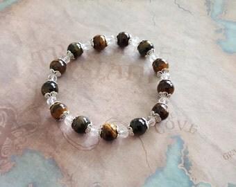 Roar tiger eyes bracelet