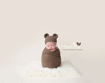 Crochet Baby Hat Pattern Bear #29
