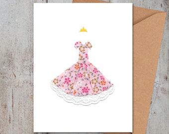 Princess Dress Card