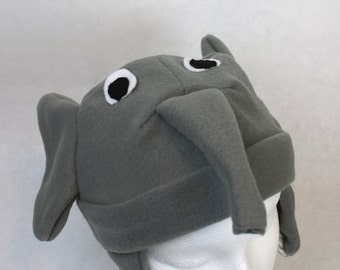 Elephant Hat (Baby, Child, and Youth Sizes)