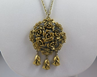 Tortolani Beautiful Rose Necklace