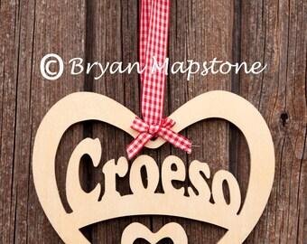 Croeso (Welcome) Heart
