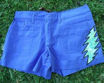 Grateful dead Shorts OOAK size 14