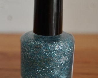 Snow Queen ~ Indie Handmade Nail Polish ~ 5 Free, Custom Blended Glitter Polish