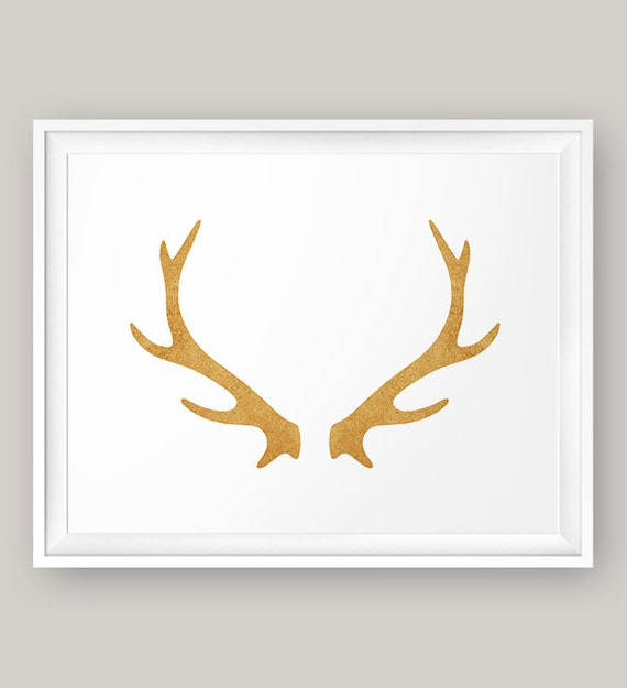 Légend image pertaining to printable deer antlers