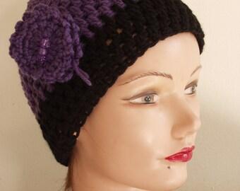 Knitted Yarn Headbands and Hats